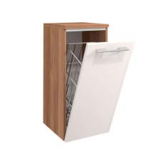 Puris Linea Highboard mit 1 Wäschekippe 30 cm offen