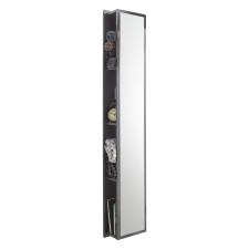 Puris Linea Hochschrank - 30 cm, mit Spiegelfläche