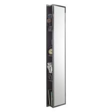 Puris Quada Hochschrank - 30 cm, mit Spiegelfläche