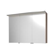 Puris Star Line Spiegelschrank 3 Doppelspiegeltüren und 1 LED Flächenleuchte
