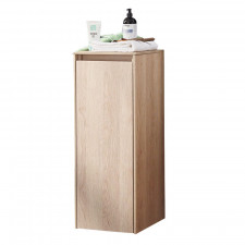 Puris Unique Highboard 30 cm mit 1 Tür inkl. Abdeckplatte