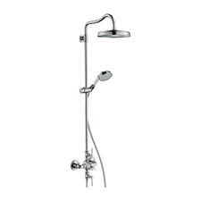 Axor Montreux Duschsystem Showerpipe mit Thermostat und Kopfbrause