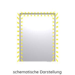 Spiegelschrank-Beleuchtung: mit seitlichem LED-Profil