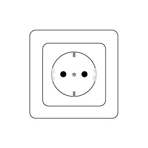 Ausführung Steckdose: Standard Ausführung