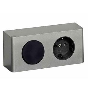 Position Schalter-Steckdosen-Element: rechts innen - Breite: 120 cm