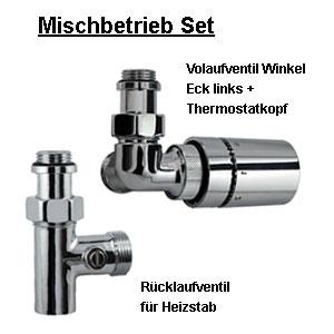 Anschlussvariante: Mischbetrieb Set (Version links)