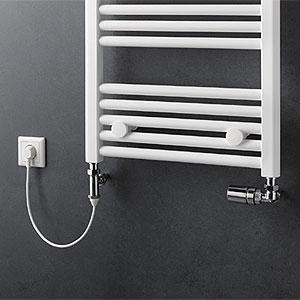 Betriebsart: Mischbetrieb (Warmwasser- und Elektrobetrieb)