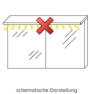 Spiegel-Beleuchtung: ohne Spiegelbeleuchtung