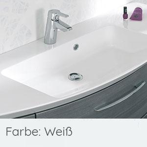 Waschtisch-Typ / -Farbe: Mineralmarmor-Waschtisch 121 cm