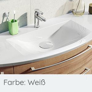 Waschtisch-Typ / -Farbe: Mineralmarmor-Waschtisch 129 cm, Clou-System