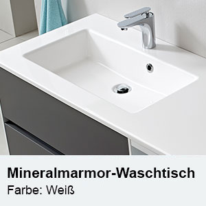 Waschtisch-Typ / -Farbe: Mineralmarmor Doppel-Waschtisch Breite: 1830 mm