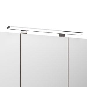 Spiegel-Beleuchtung: mit LED-Aufsatzleuchte, 12 V, 5W, 600 mm Breite