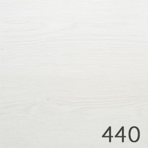 Korpusfarbe: Eiche Weiß quer Nachbildung