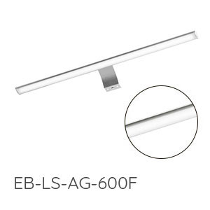 Aufsatzleuchte: mit 2x LED, 12V, 7 Watt, Breite: 600 mm