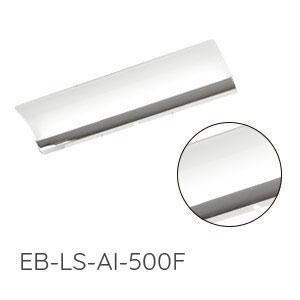 Aufsatzleuchte Spiegelschrank: 2x mit LED, Chrom Glanz, 12V, 6W, Breite: 500 mm