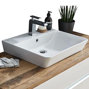 Waschtisch-Typ: Connect Air, Weiß Nr. 1