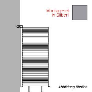 Montageart: als Raumteiler - inklusive Montageset in Silber