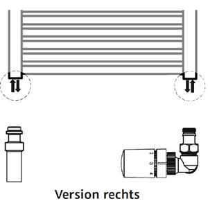 Anschlussvariante: Seitenanschluss + Mischbetrieb Set (Version rechts)