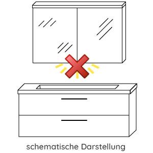 Waschtisch-Beleuchtung: ohne