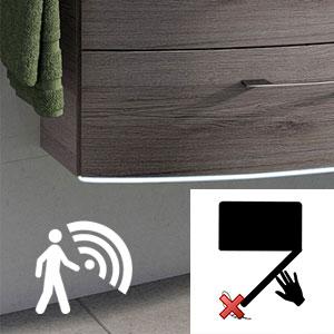 Waschtischunterschrank-Beleuchtung: mit - für Basis X
