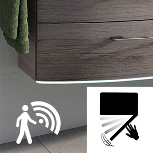 Waschtischunterschrank-Beleuchtung: mit - für Comfort N