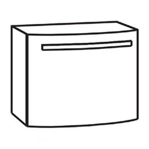 Waschtischunterschrank: mit 1 Auszug