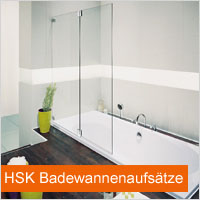 HSK Badewannenaufsätze