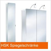 HSK Spiegelschränke
