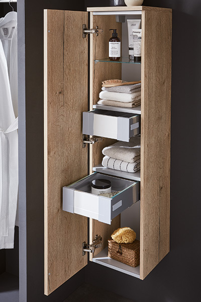 Badmöbel Set aus der b-collection Badmöbel Kollektion b-unit