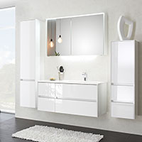 Badmöbel der Serie Aquarell Mailand (Pelipal Solitaire 6010)
