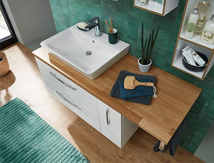 Pelipal Solitaire 9005 Waschtischplatte