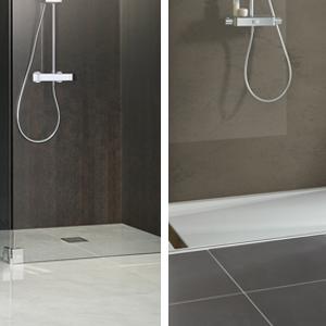 Begehbare Dusche Badshop De