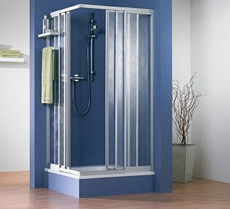 Duschkabine Kunstglas