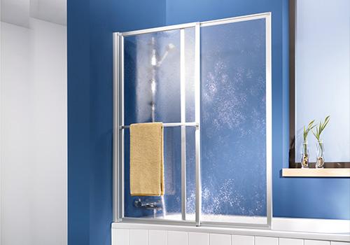 Duschwand / Duschabtrennung für die Badewanne