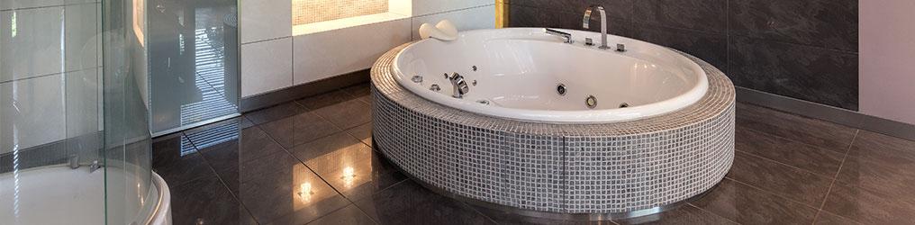 Badewanne Rund Mosaik Fliesen