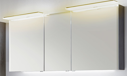 Spiegelschrank mit Farbtemperaturwechsel