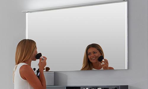 Badspiegel mit Spiegelheizung