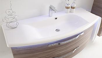 Waschbecken-Materialien
