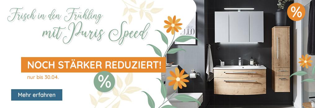 Frühjahrsaktion - Puris Speed stark reduziert
